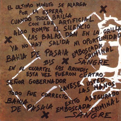 Letra Bahia de pasaia