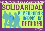 Solidaridad procesados contra el parking