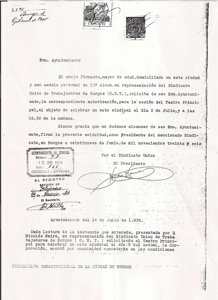 Petición Cesión