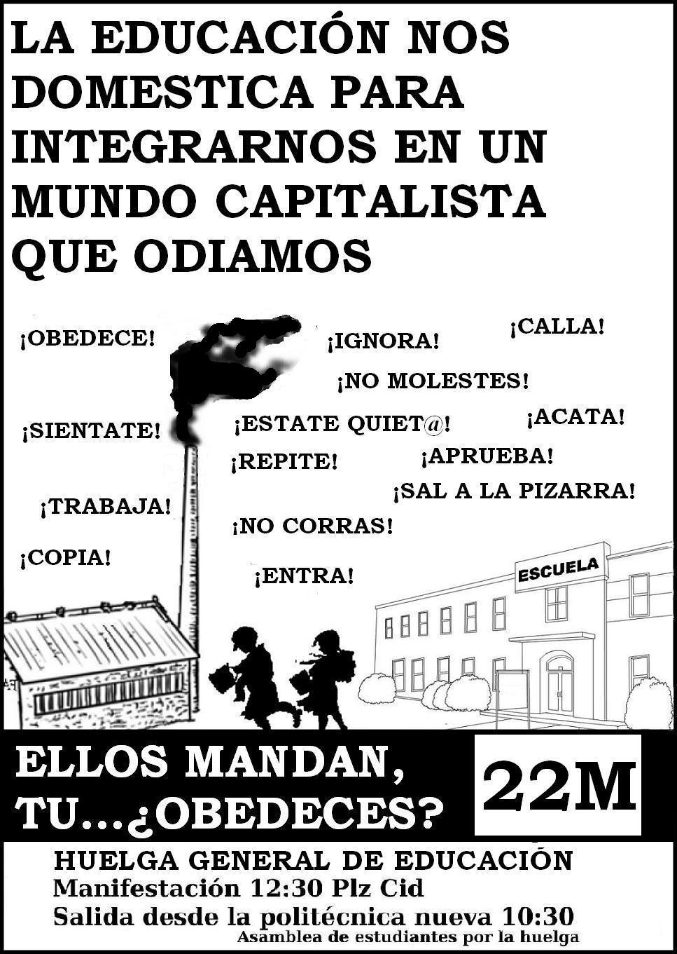Cartel huelga (1)