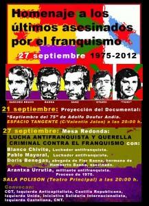 cartel 27 septiembre