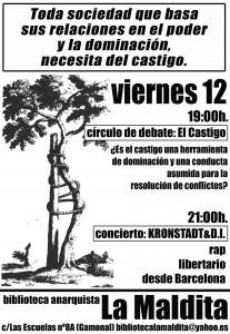 cartel debate+concierto