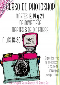 Cartel curso Photoshop