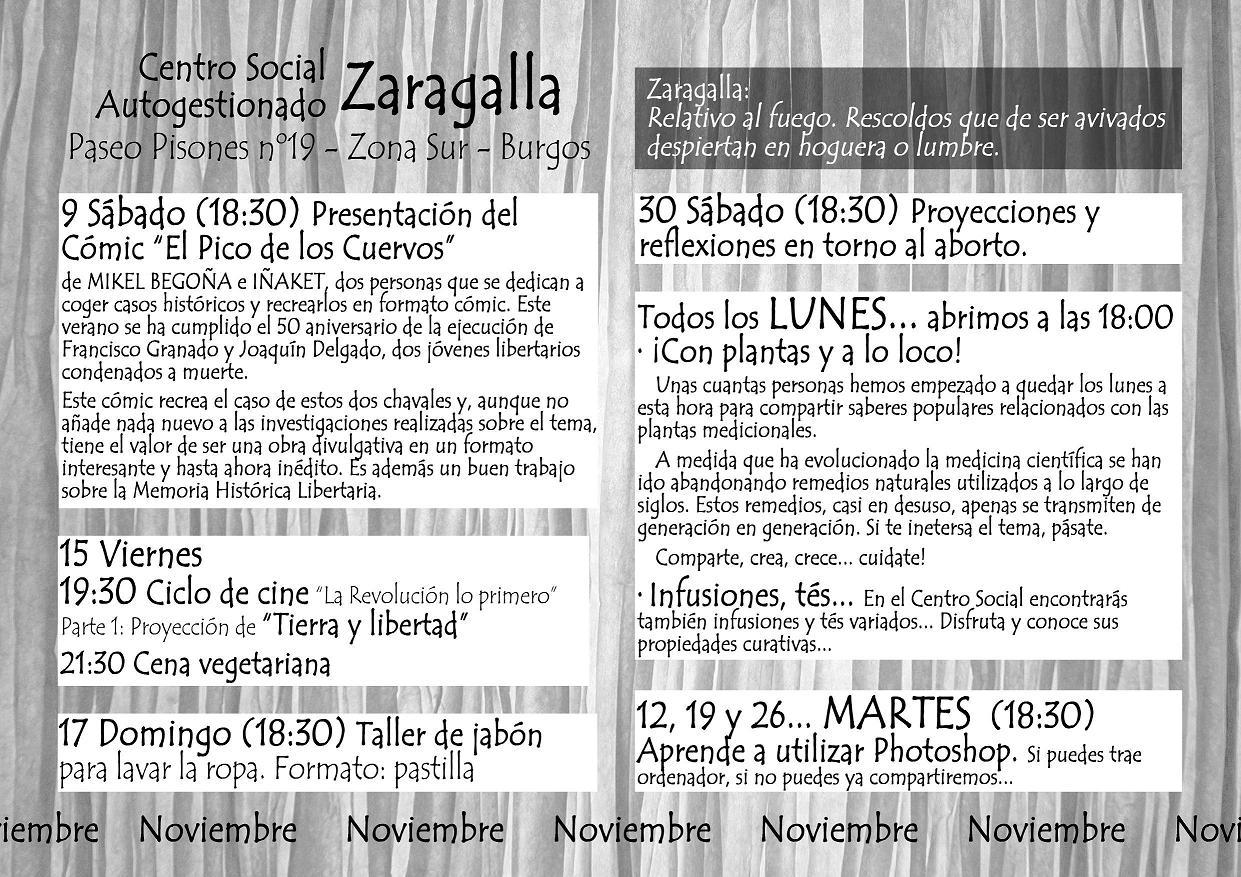 cartel noviembre 2013