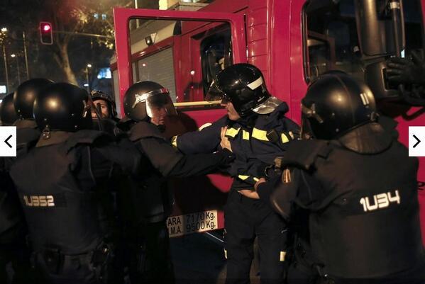 Bombero detenido