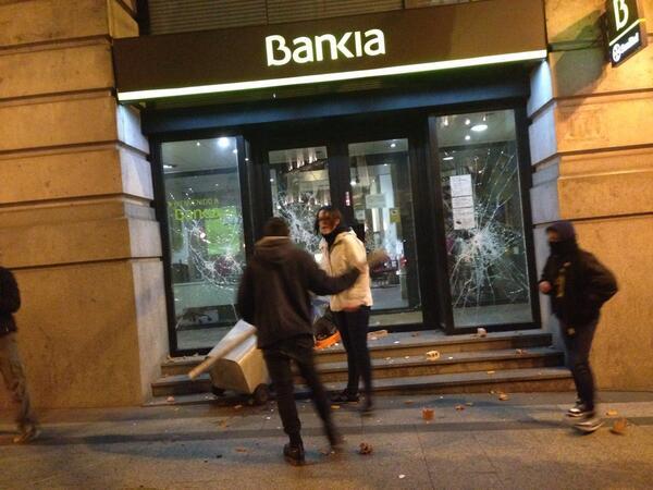 Madrid disturbios