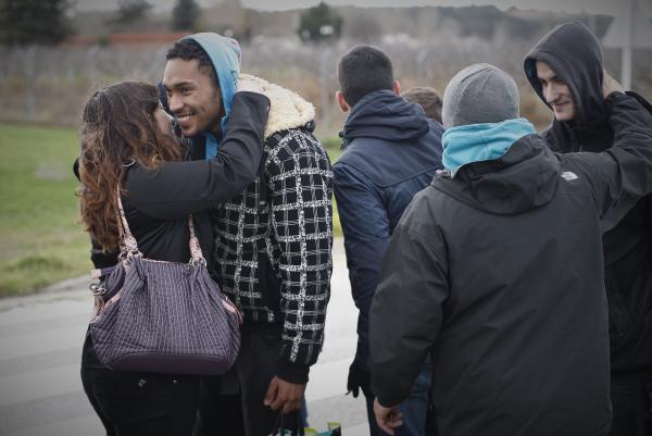 Salida de prisión detenidos Gamonal