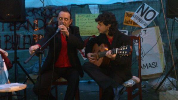 burgos-tarde3 concierto flamenco en campamento base