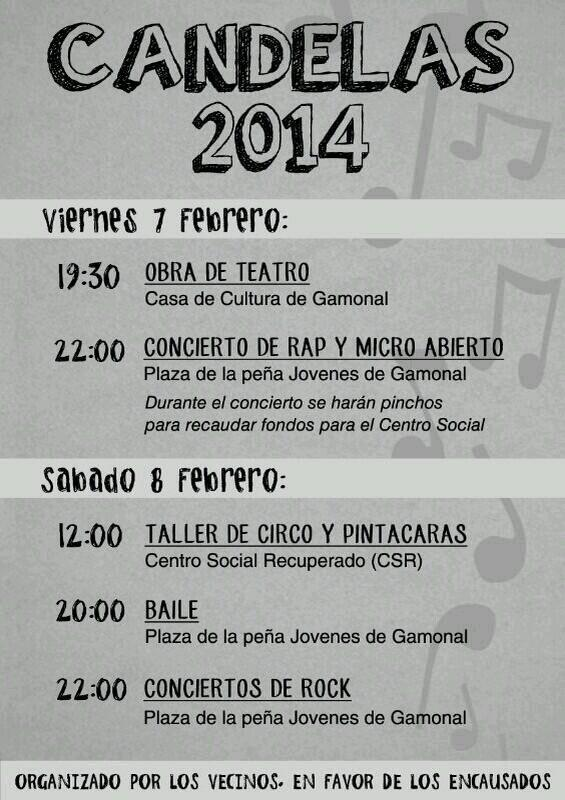 Fiestas Candelas