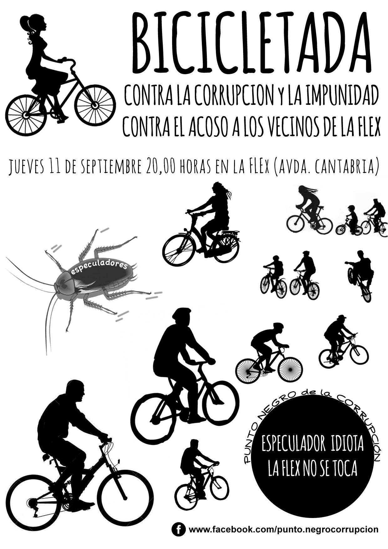 cartel bicicletada