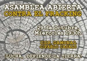 Asamblea abierta fracking
