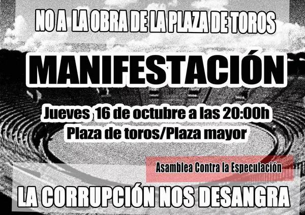 manifestación 16 octubre
