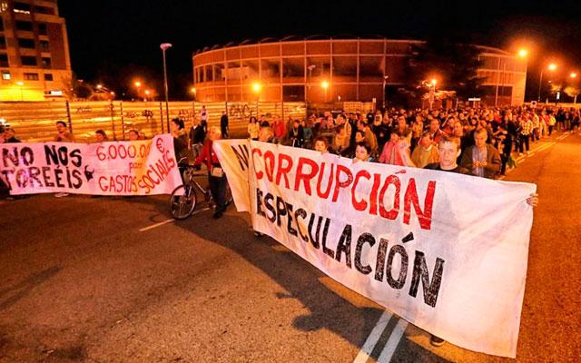 manifestacion-plaza-de-toros-burgos