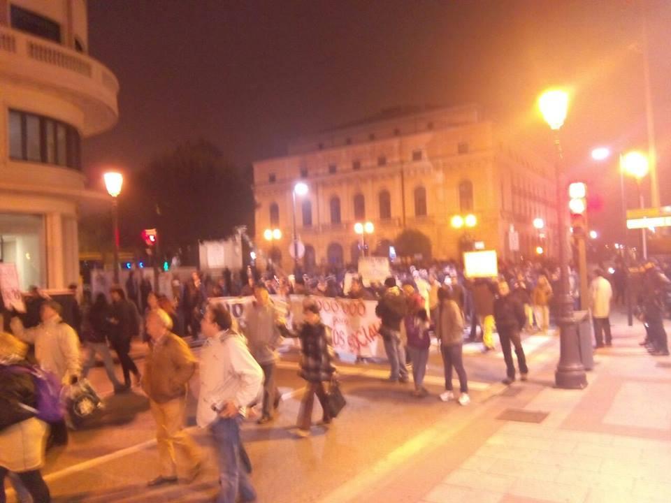 manifestación 20 noviembre