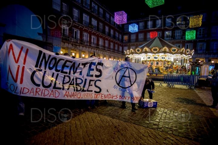 Solidaridad anarquistas detenidos BCN-Madrid