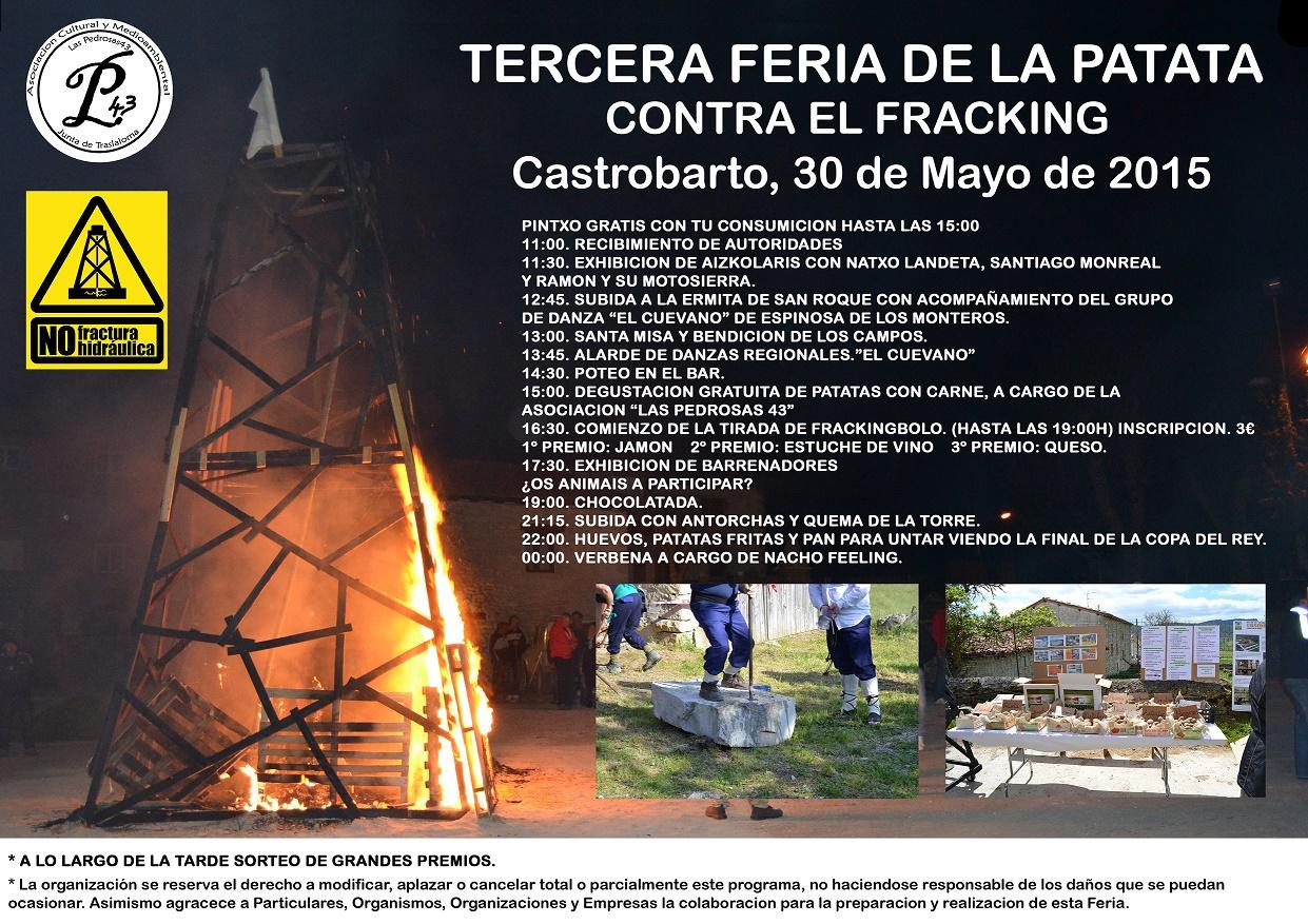 FERIA DE LA PATATA 2015 EN CASTROBARTO. 30 DE MAYO