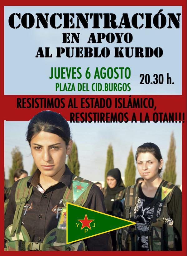 Apoyo pueblo Kurdo