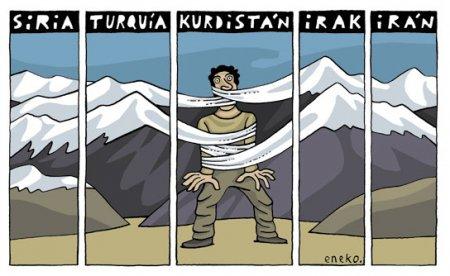 kurdos en el exilio