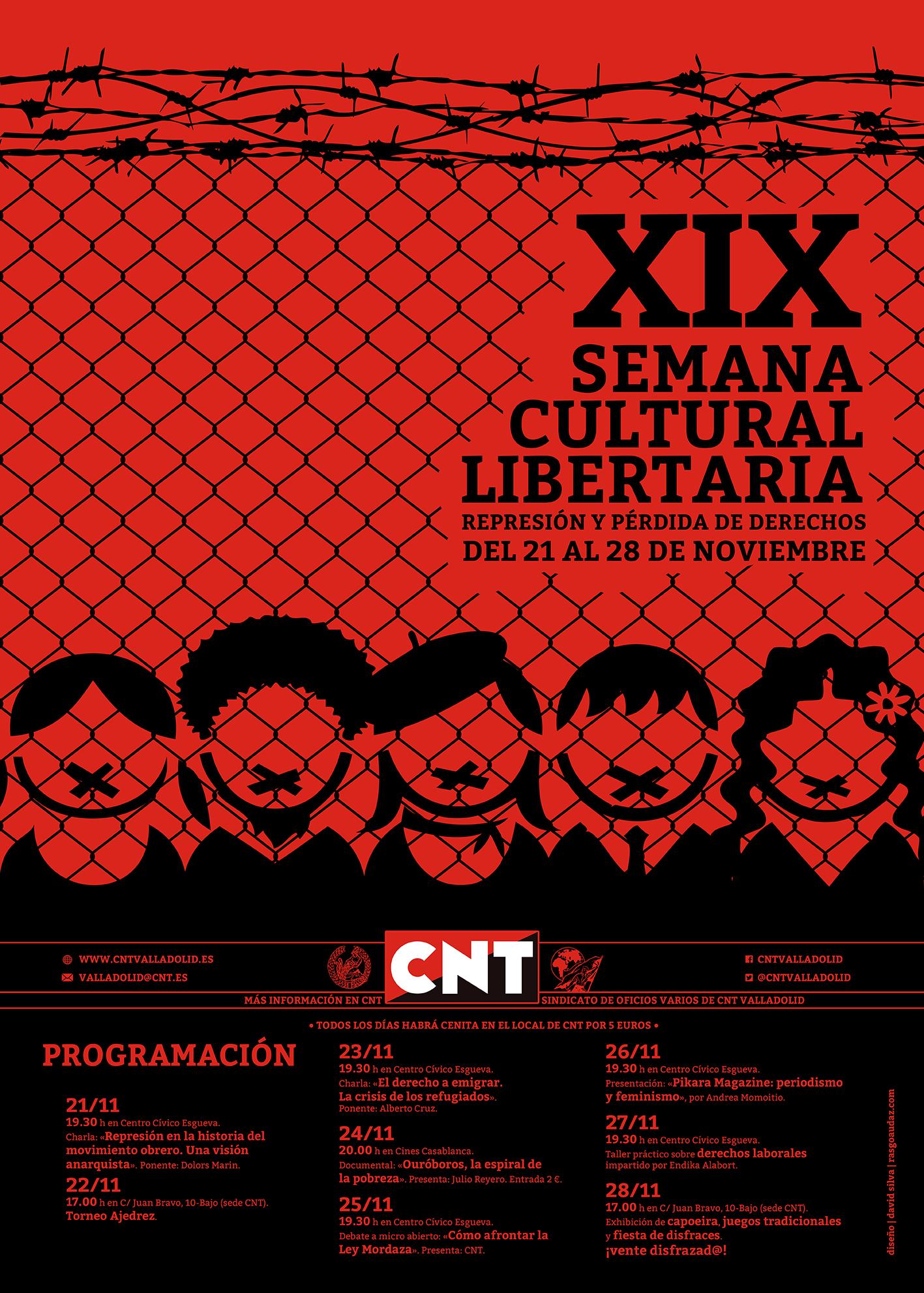 Cartel XIX Semana Cultural para web