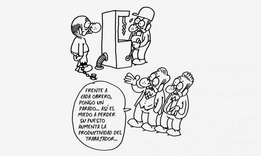 caricatura trabajo-paro