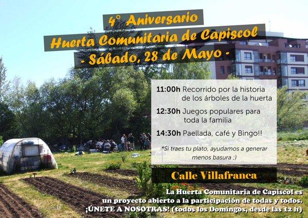 Aniversario Huerta